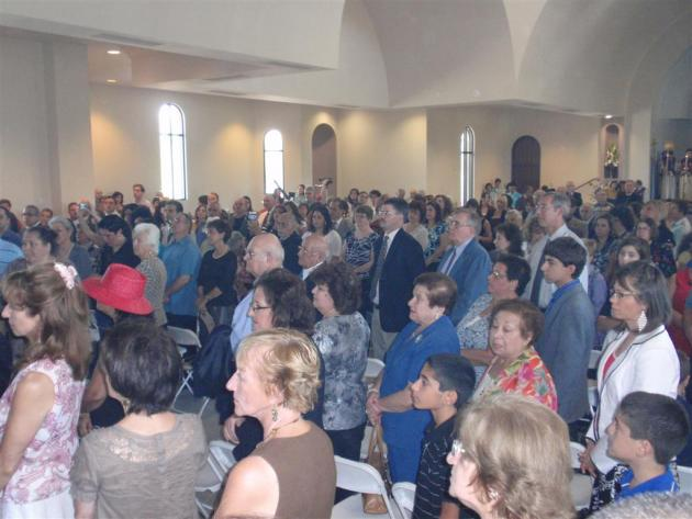 CONSECRATION of ST. APKAR ARMENIAN CHURCH IN ARIZONA