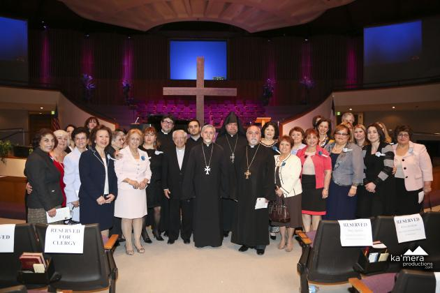 Mar. 1 - Armenian Christian Outreach of PazNaz Hosts 43rd Annual International Women's Day of Prayer - Archpriest Fr. Hovsep Hagopian Represents Primate